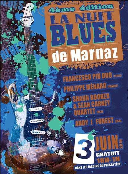 4e Nuit du Blues de Marnaz